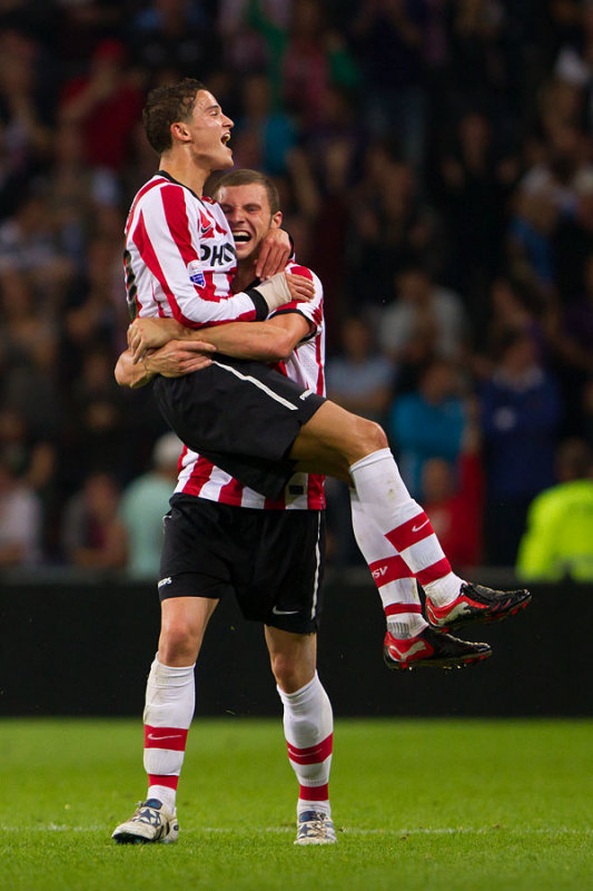 Afellay and Pieters