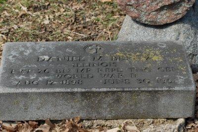 Daniel M Blintz  WWII