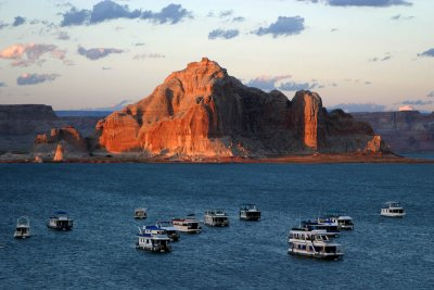 Marina at Lake Powell