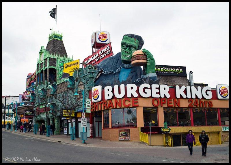 Burger King at Downtown Niagara Falls