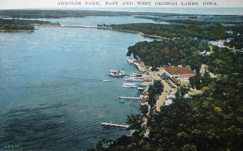 Arnolds Park and West Okoboji 1923