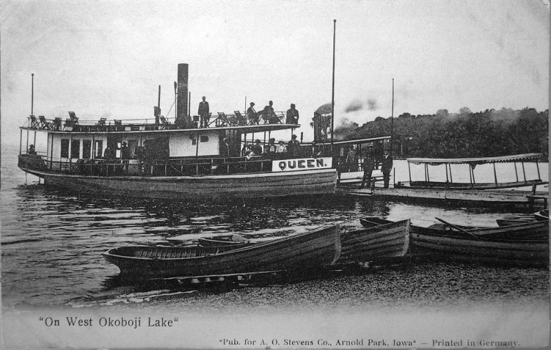 On West Okoboji Lake 1911