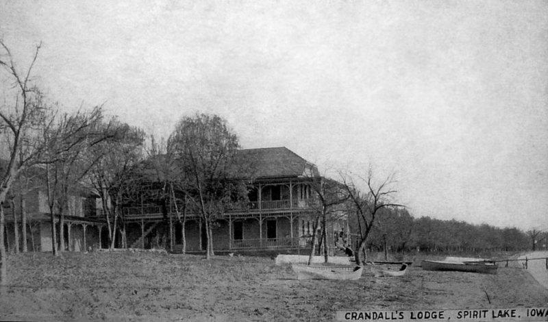 Crandalls Lodge Spirit Lake