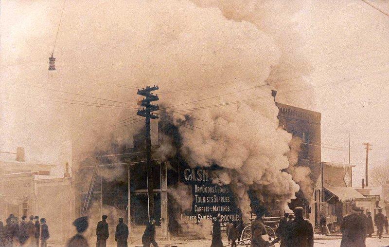 Spirit Lake Fire Jan. 2, 1908
