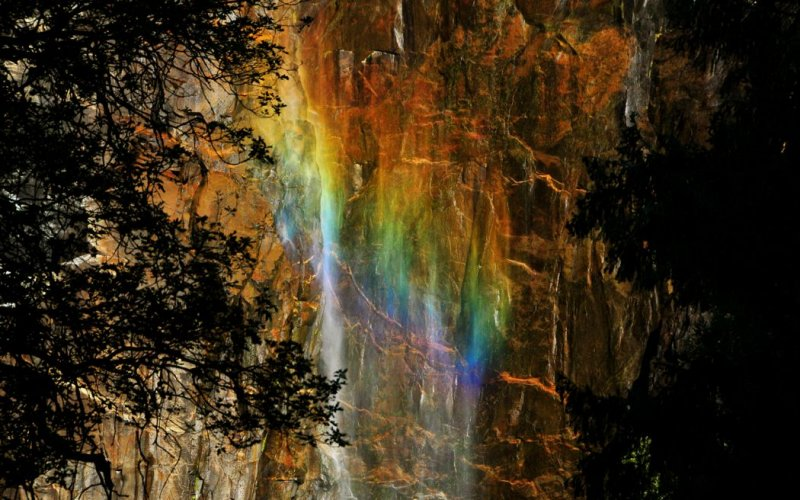 Special Rainbow, Bridalveil Fall