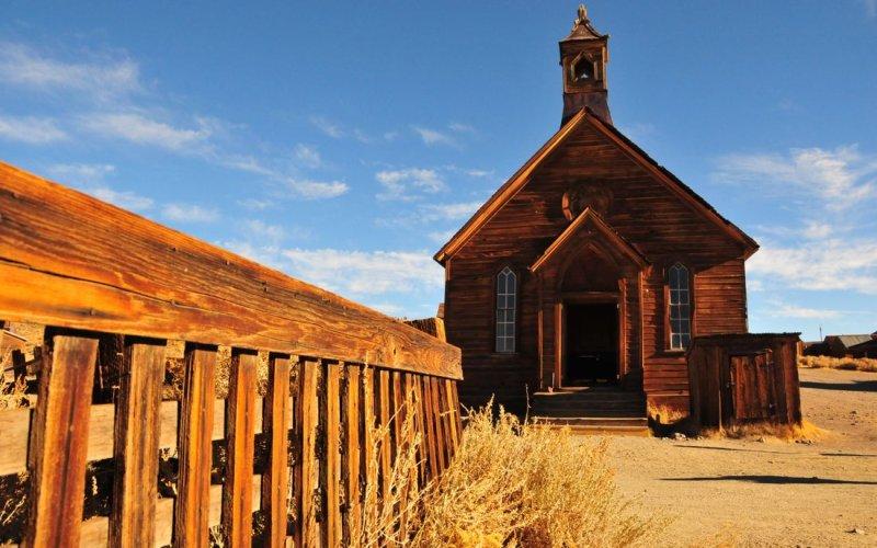 Methodist Church, Ghost Town of Bodie