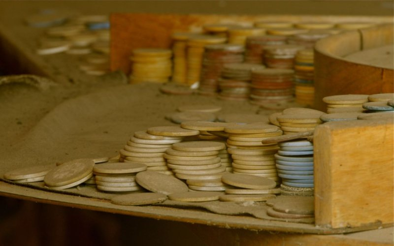 Roulette Chips, Bodie