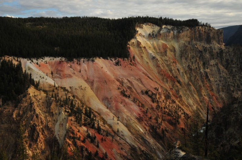 Grand Canyon of the Yellowstone - Reverse Direction