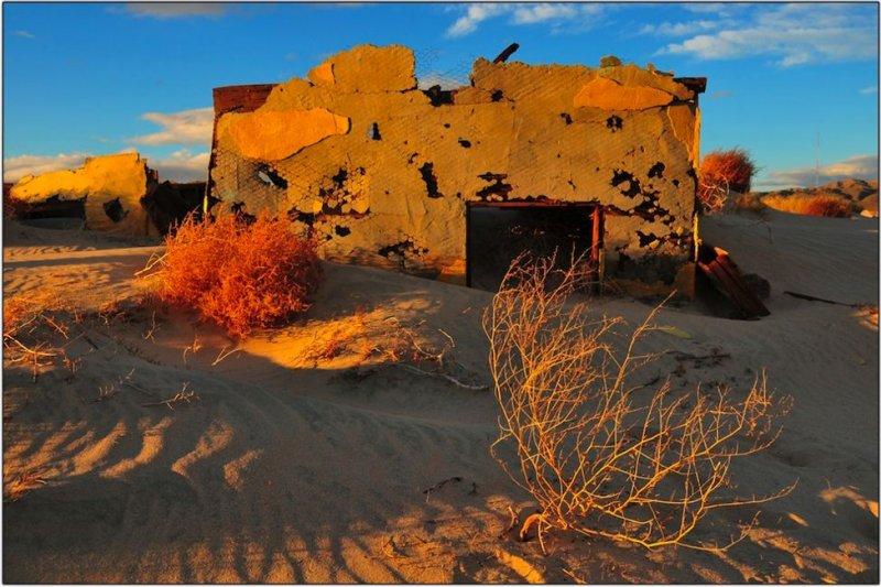 Sand Dune Ruins, Barstow, California