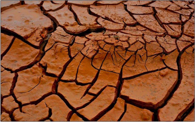 Drying Mud