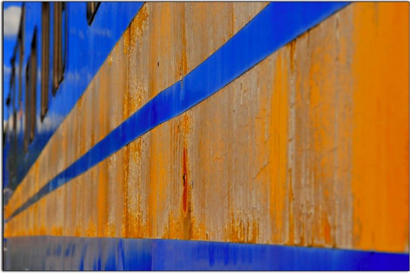 Retired Passenger Car, McCloud Rail Yard