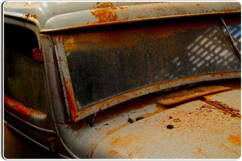 Forgotten Truck in an Abandoned Barn