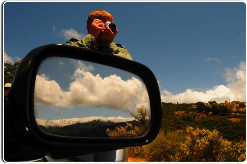 Photographing the Landscape from the Santa Lucia Mountains