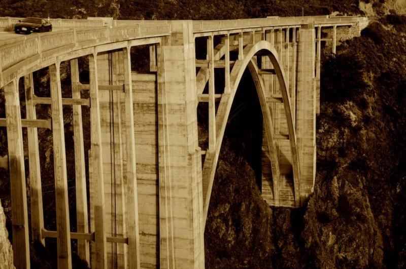 Bixby Bridge, North End of the Big Sur Coast