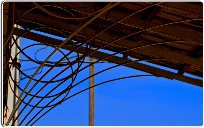 Awning over the Market, Spreckles, California