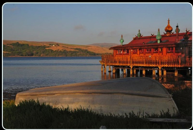 The Dacha in Inverness, on Tomales Bay.
