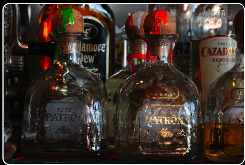 Tequila Bottles, Old Western Saloon, Point Reyes Station