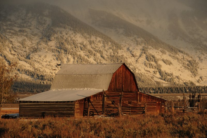 Barn Below the Tetons