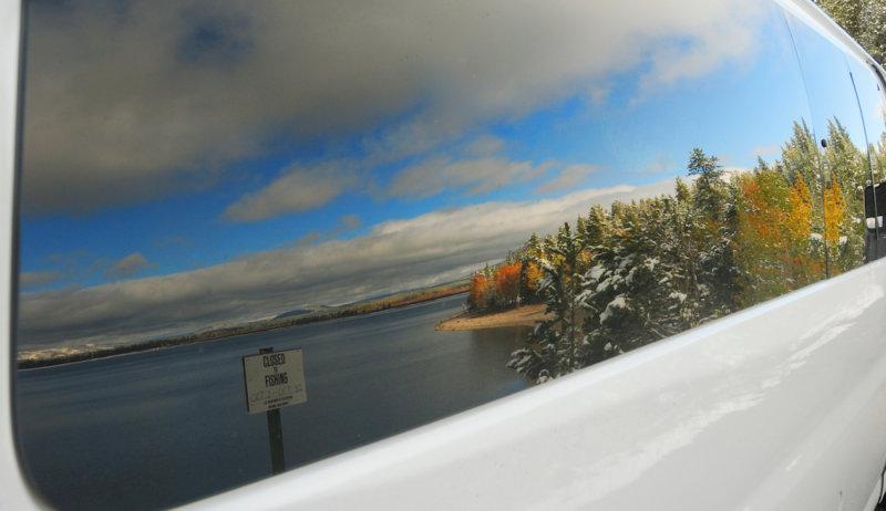 Jackson Lake in Reflection