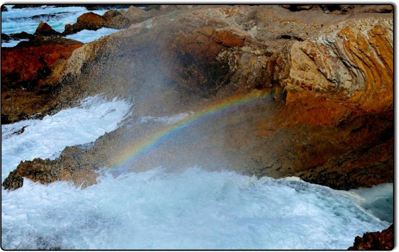 Rainbow at Montana de Oro State Park