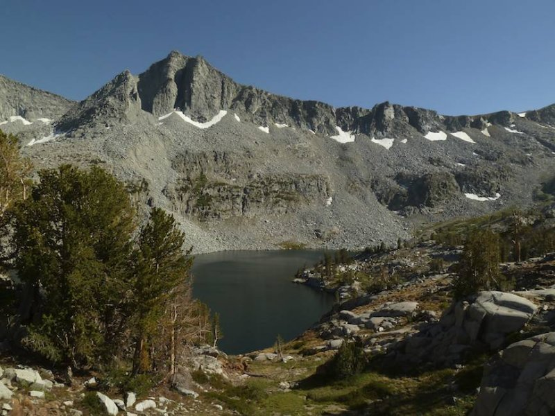 Pano of Big McGee Lake.