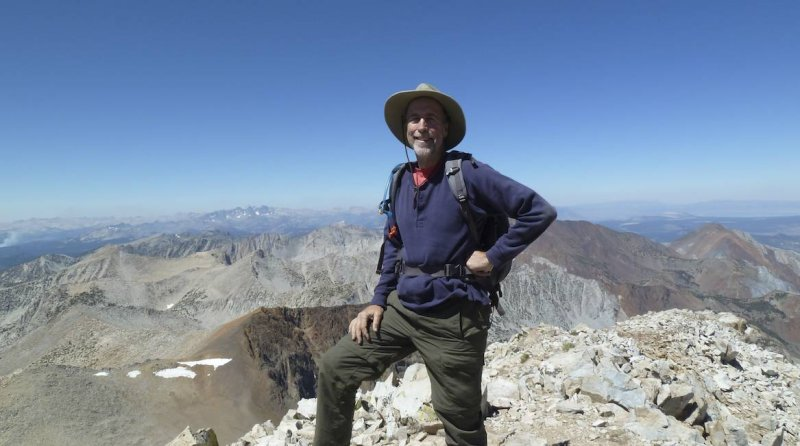 Yours truly. What a great climb.