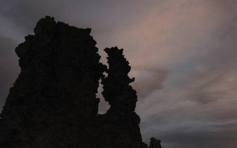Darkening Skies over the Tufa, Mono Lake