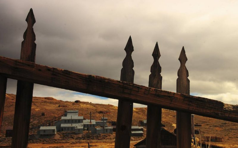 View of the Standard Mill, Bodie