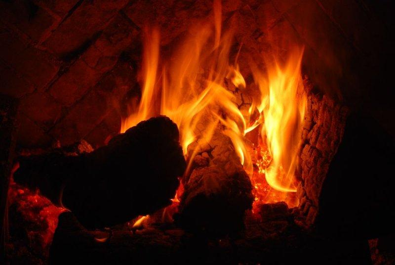 Ahwahnee Hotel - Fireplace