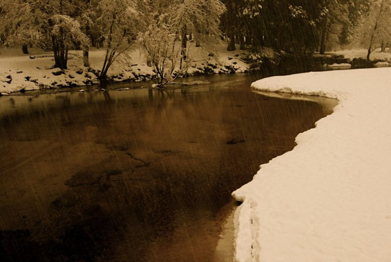 Merced River View, Yosemite Valley