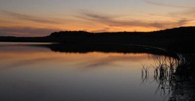 Sunset Over Abbot Lagoon