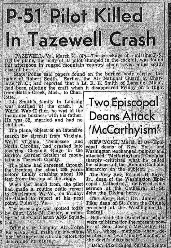 March 22, 1954 Article