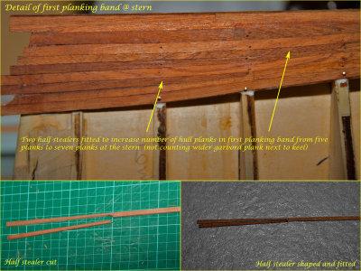 Stern & Half Stealers detail