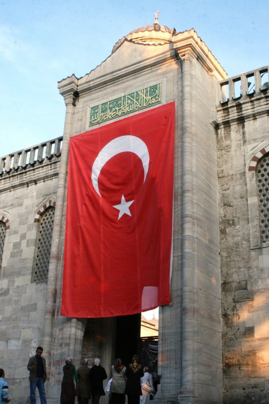 Istambul - Blue Mosque entrance