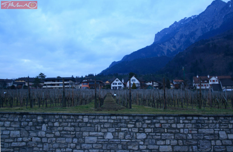 Vaduz - capitol of Liechtenstein