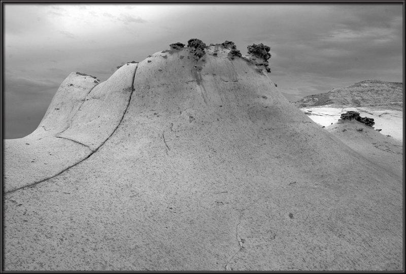 The Nizana rock curvatures