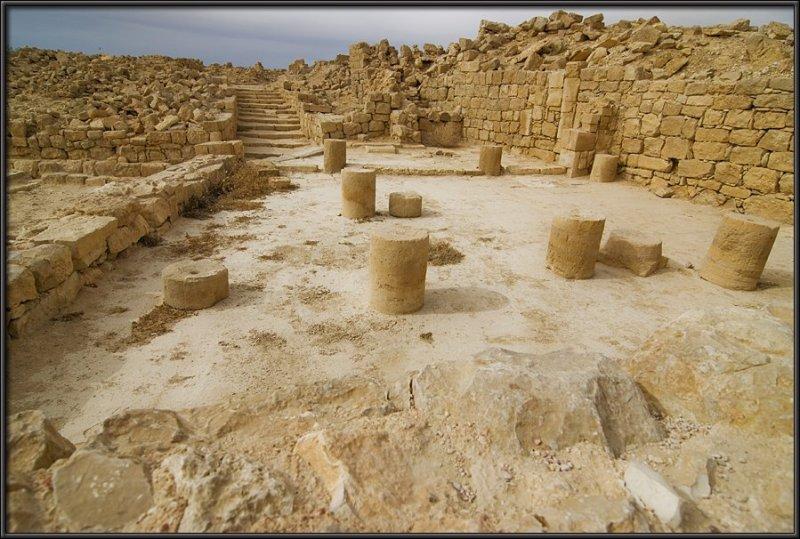 Shivta - the Nabbatean ruin