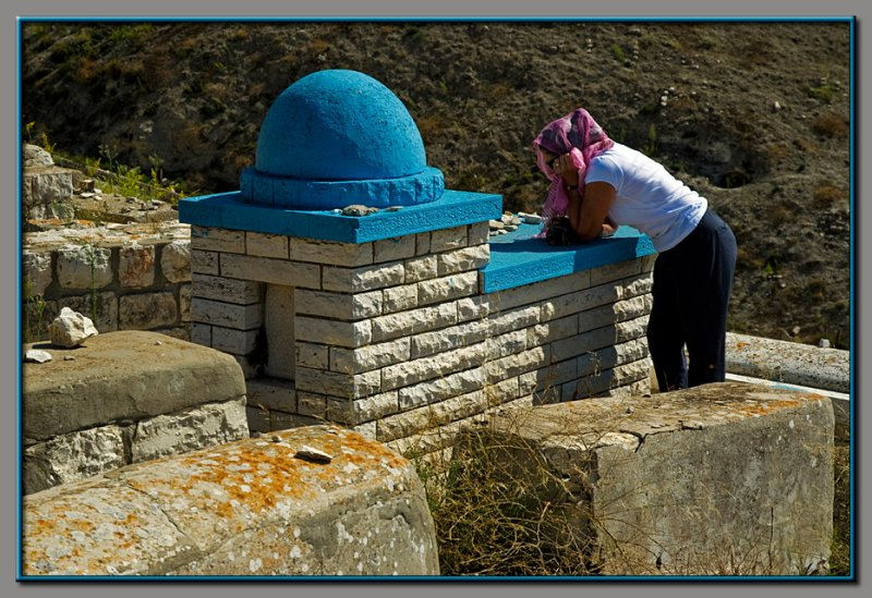 A pilgrimage to tombs of holy men of past history - Zefat