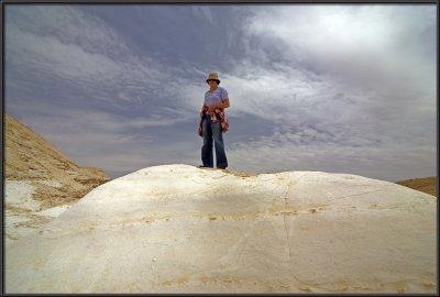 The Nizana rock curvatures & Etty
