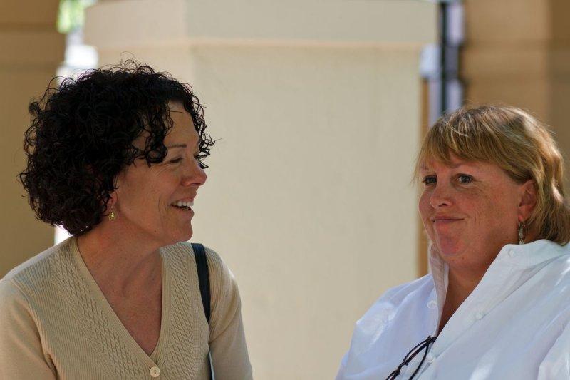 Lois Stanford and Miriam Chaiken
