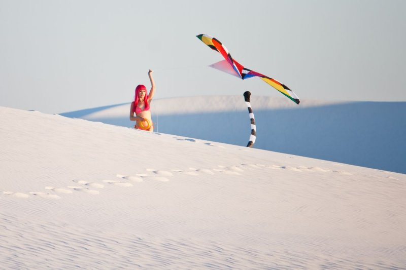 White Sands is a popular site for photo shoots