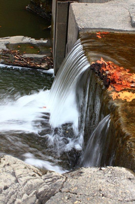 Water over Dam<BR>November 12, 2008