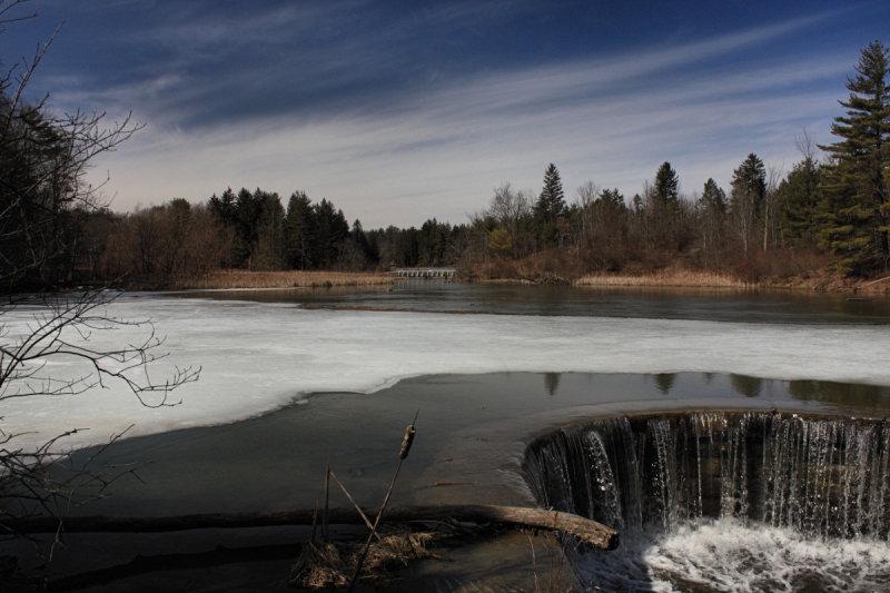 Beaver Pond<BR>March 13, 2009
