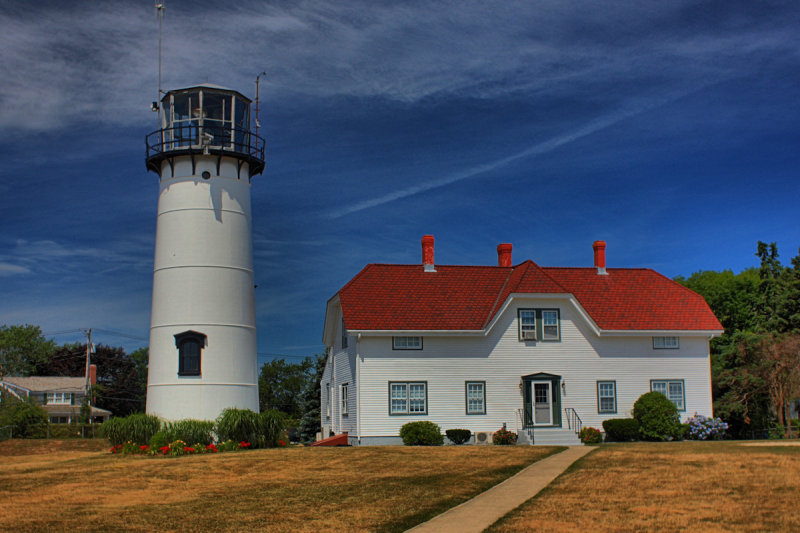 Chatham Light in HDR<BR>July 4, 2010