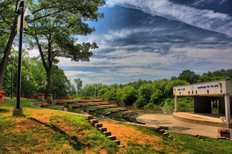 Amphitheater in HDR<BR>July 13, 2010