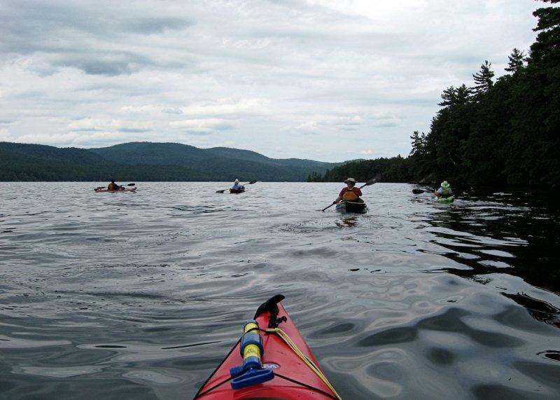 Kayaking Northwest Bay<BR>August 12, 2010