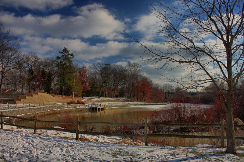 Park Landscape in HDR<BR>December 20, 2010