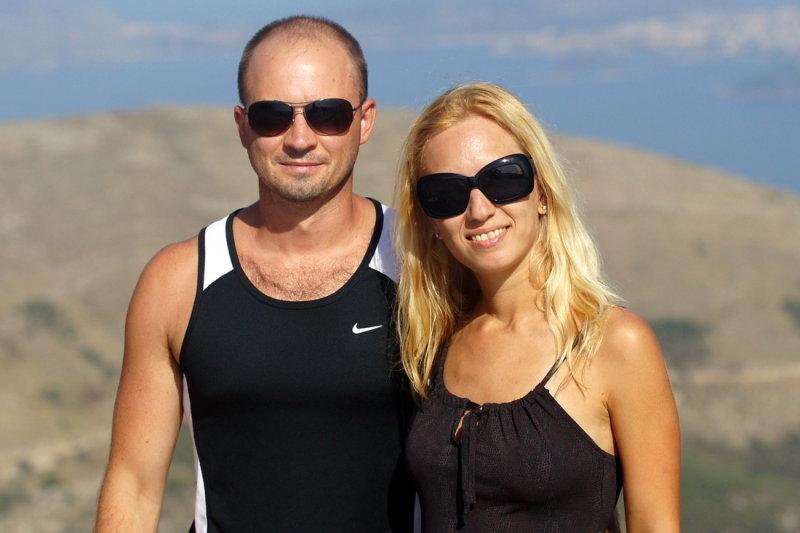Nice Russian couple