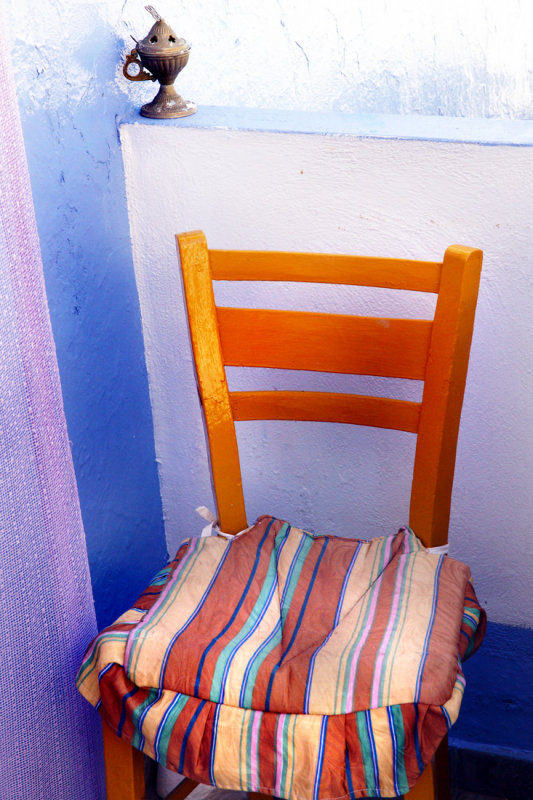 Greek chair