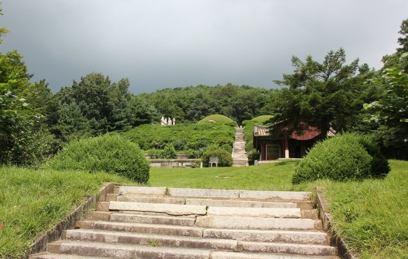 Tomb of King Kongmin and his queen